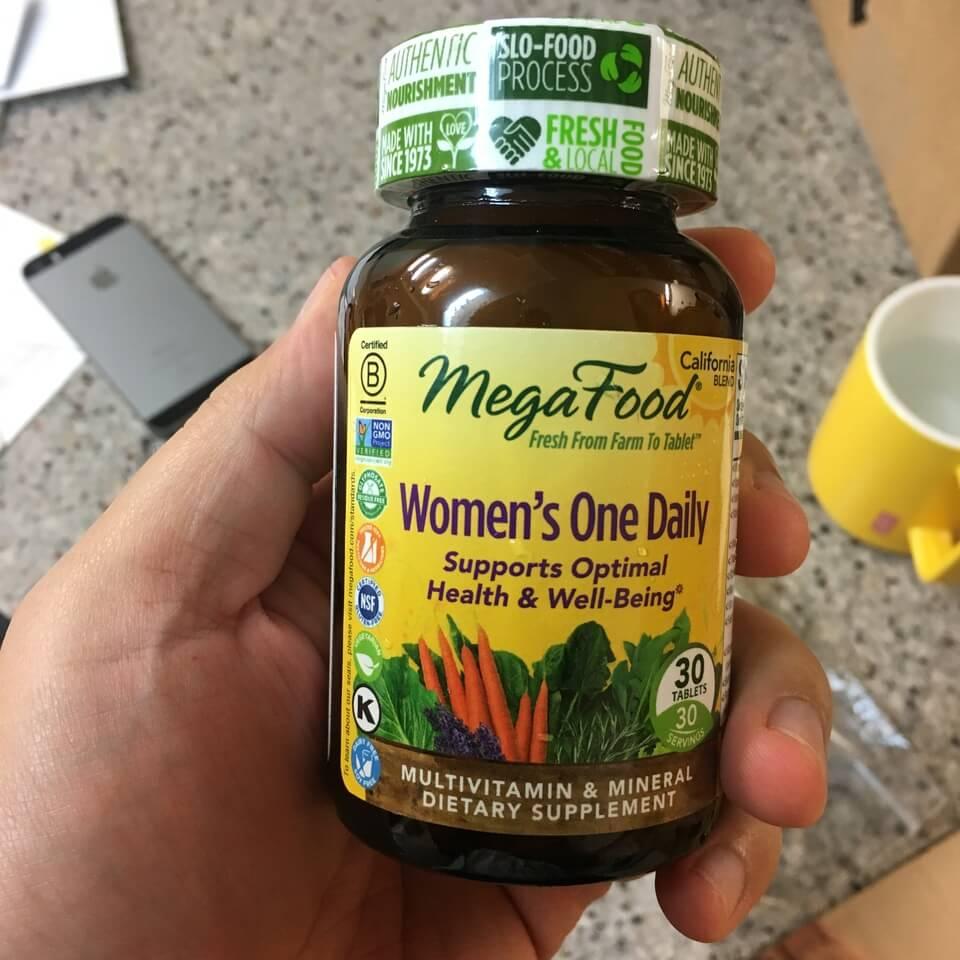 종합비타민 추천 - 메가푸드 원데일리 여성