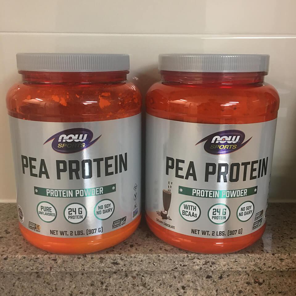 단백질 보충제 추천 - 나우푸드 콩 단백질