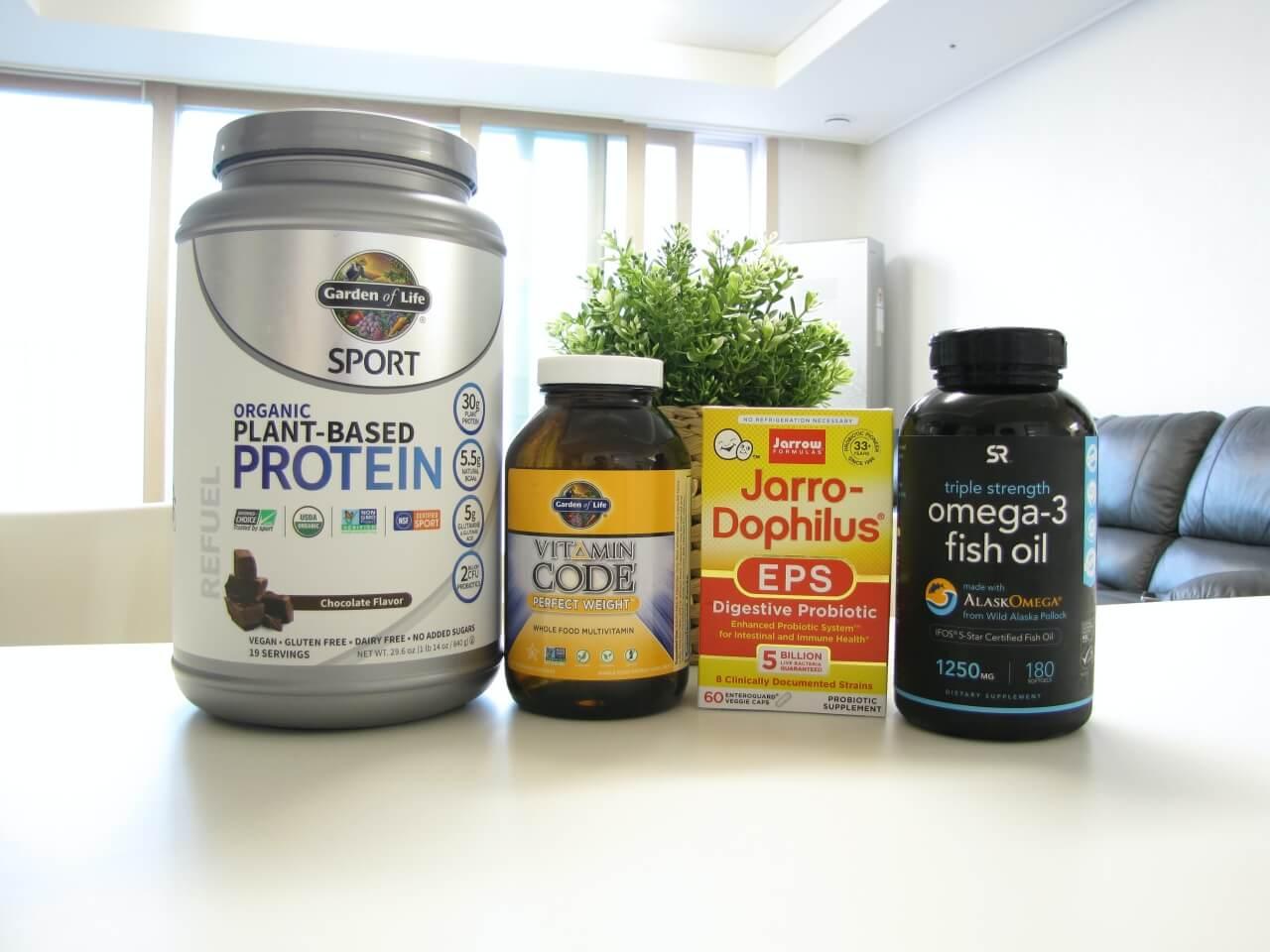 다이어트 영양제 조합