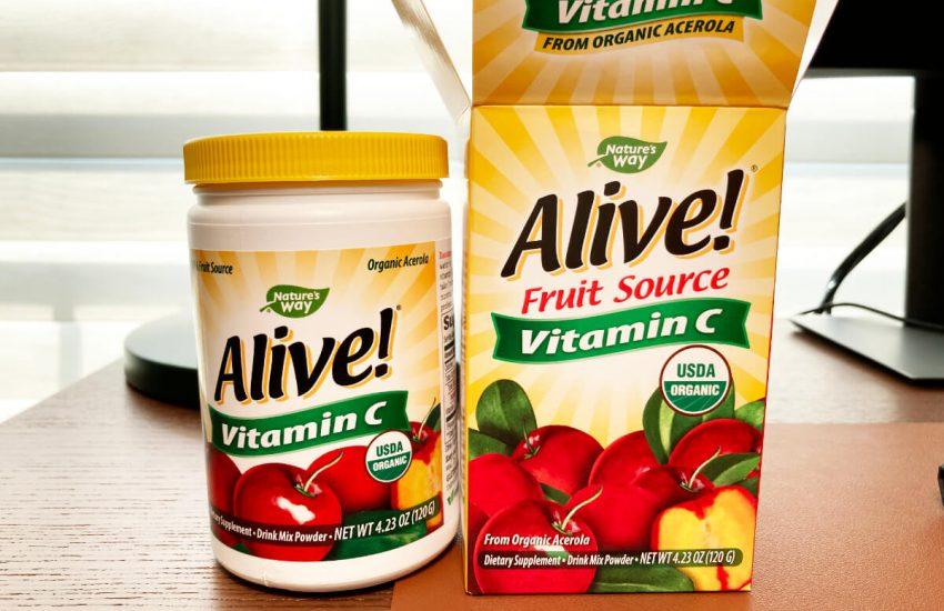 비타민C 추천 제품 얼라이브 아세로라C